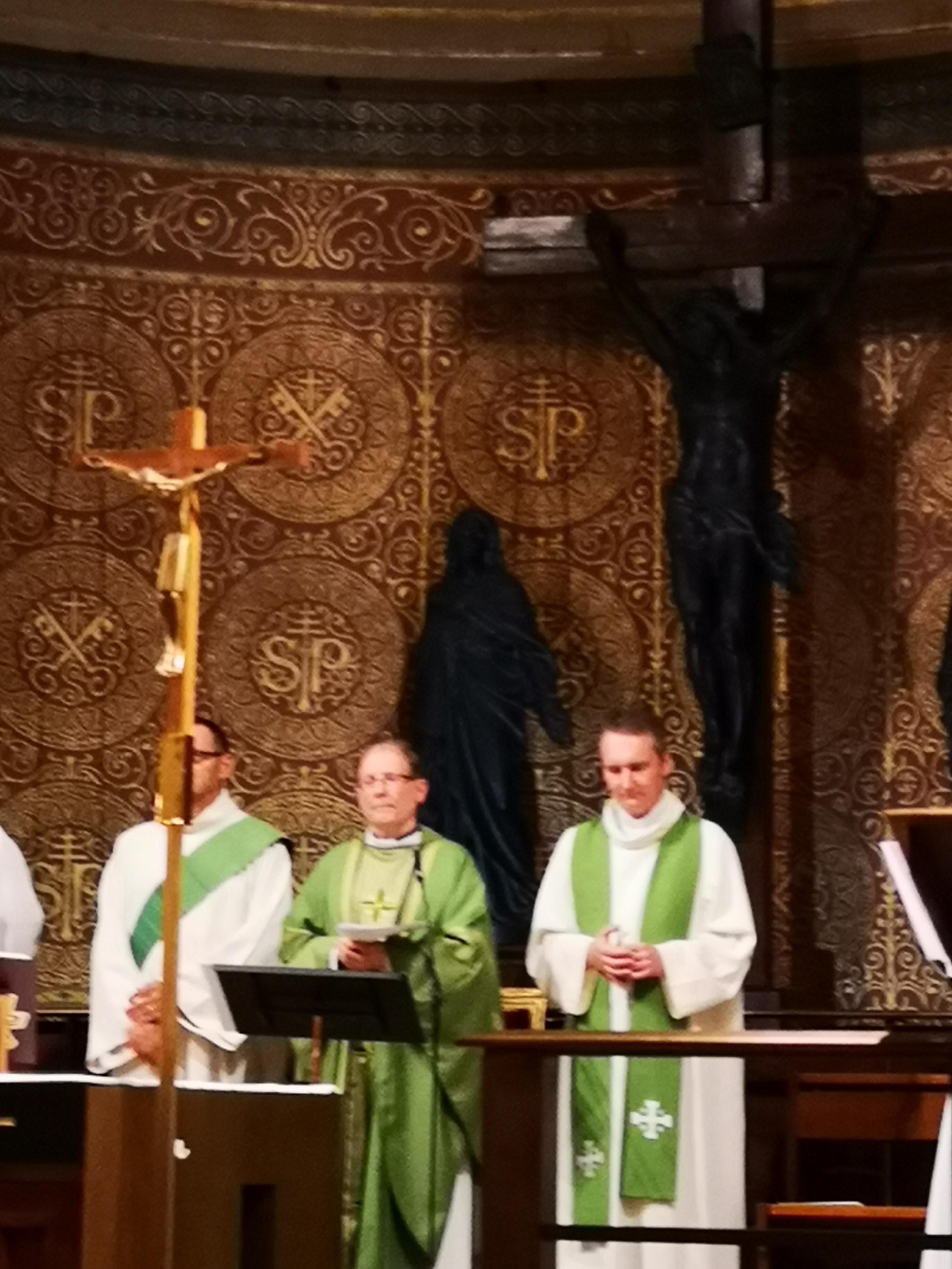 Homélie du Père Stéphane Aulard à l'occasion de l'installation du Père Jérôme Thuault comme curé de St Pierre de Charenton