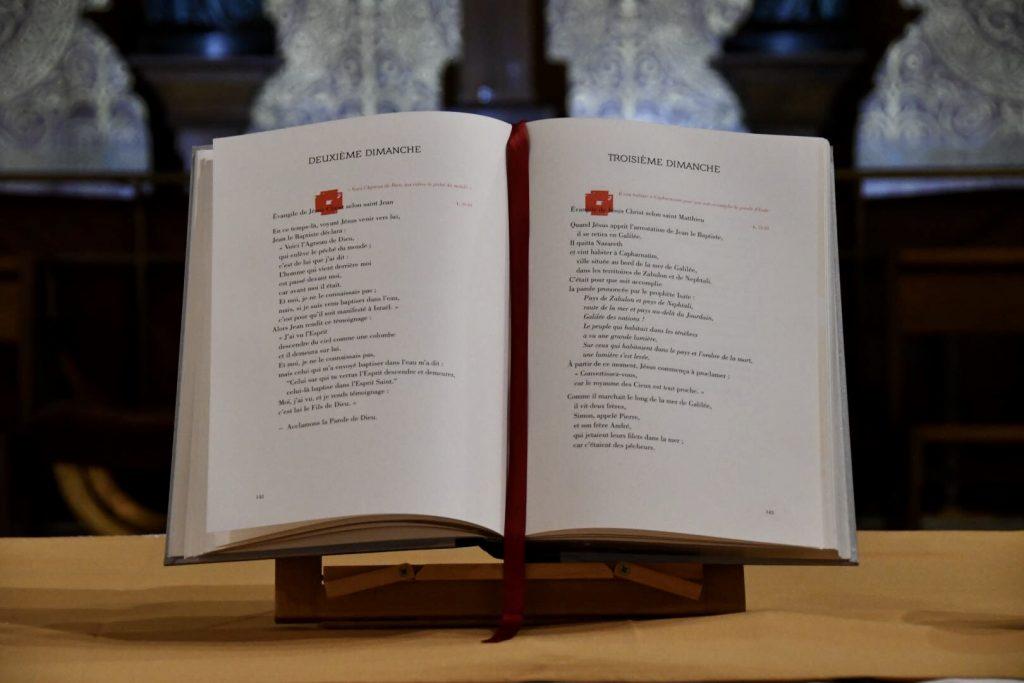 Dimanche de la Parole du Seigneur : lecture en continu de l'Evangile de St-Marc le samedi 23 Janvier à 15h30