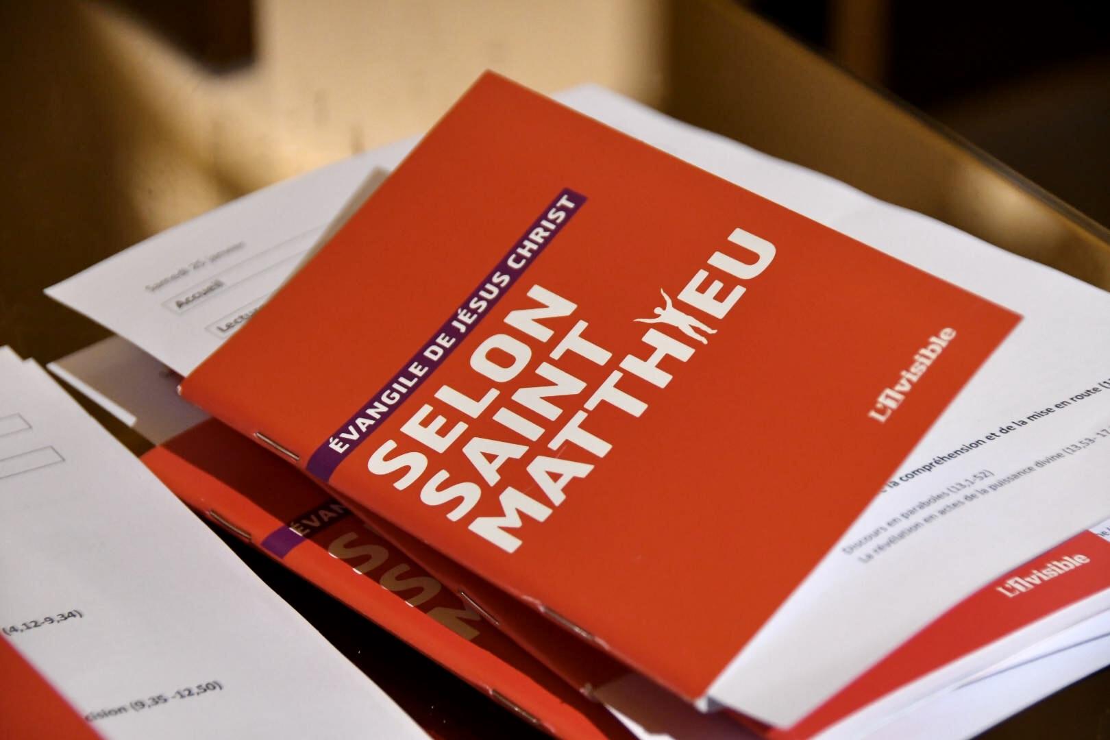Samedi 25 janvier à 18h30 Lecture en continu de l'Evangile de St Matthieu