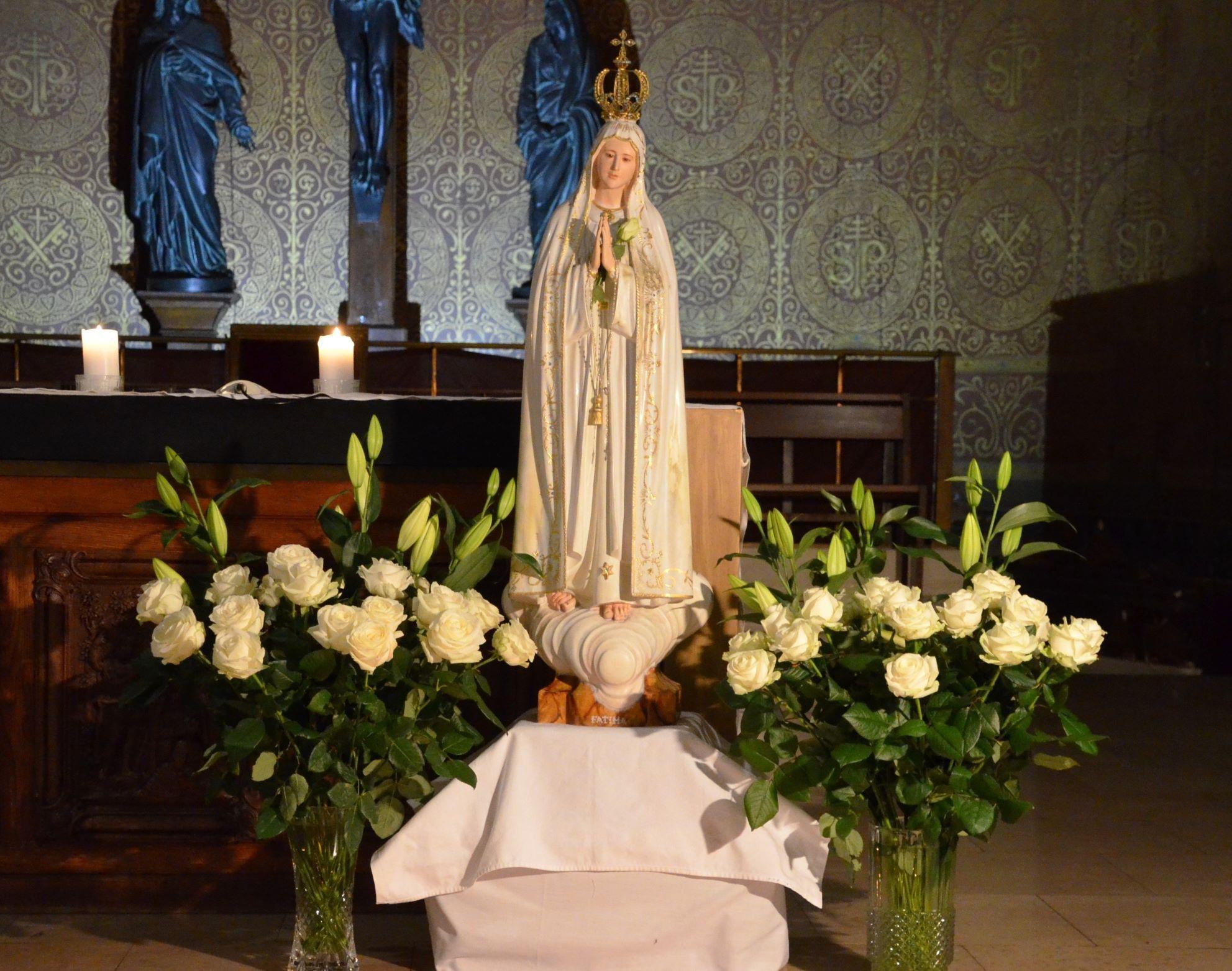 "Veillée de prière pour la Vierge de Fatima ""en direct"" de mercredi 13 mai 2020"