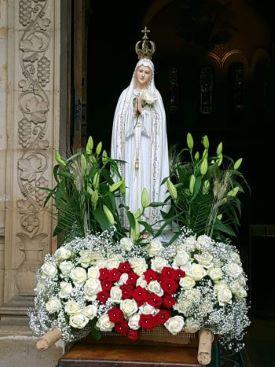 A l'occasion de la fête de la Vierge de Fatima,  une neuvaine de prières vous est proposée.  Le 13 mai, à l'issue de cette neuvaine, il y aura une veillée de prière  en direct de Saint Pierre de Charenton.