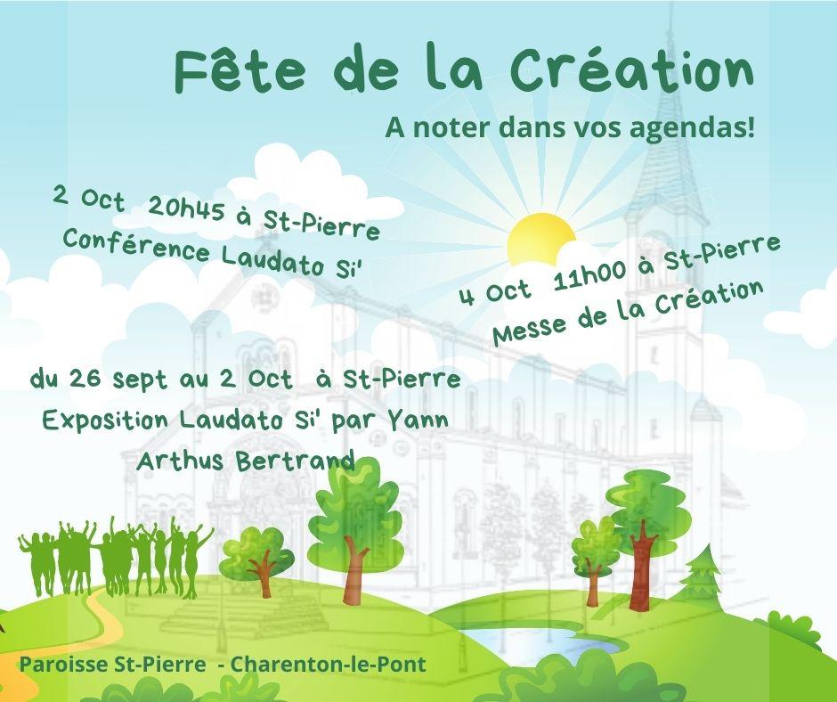 Fête de la Création : 4 Octobre