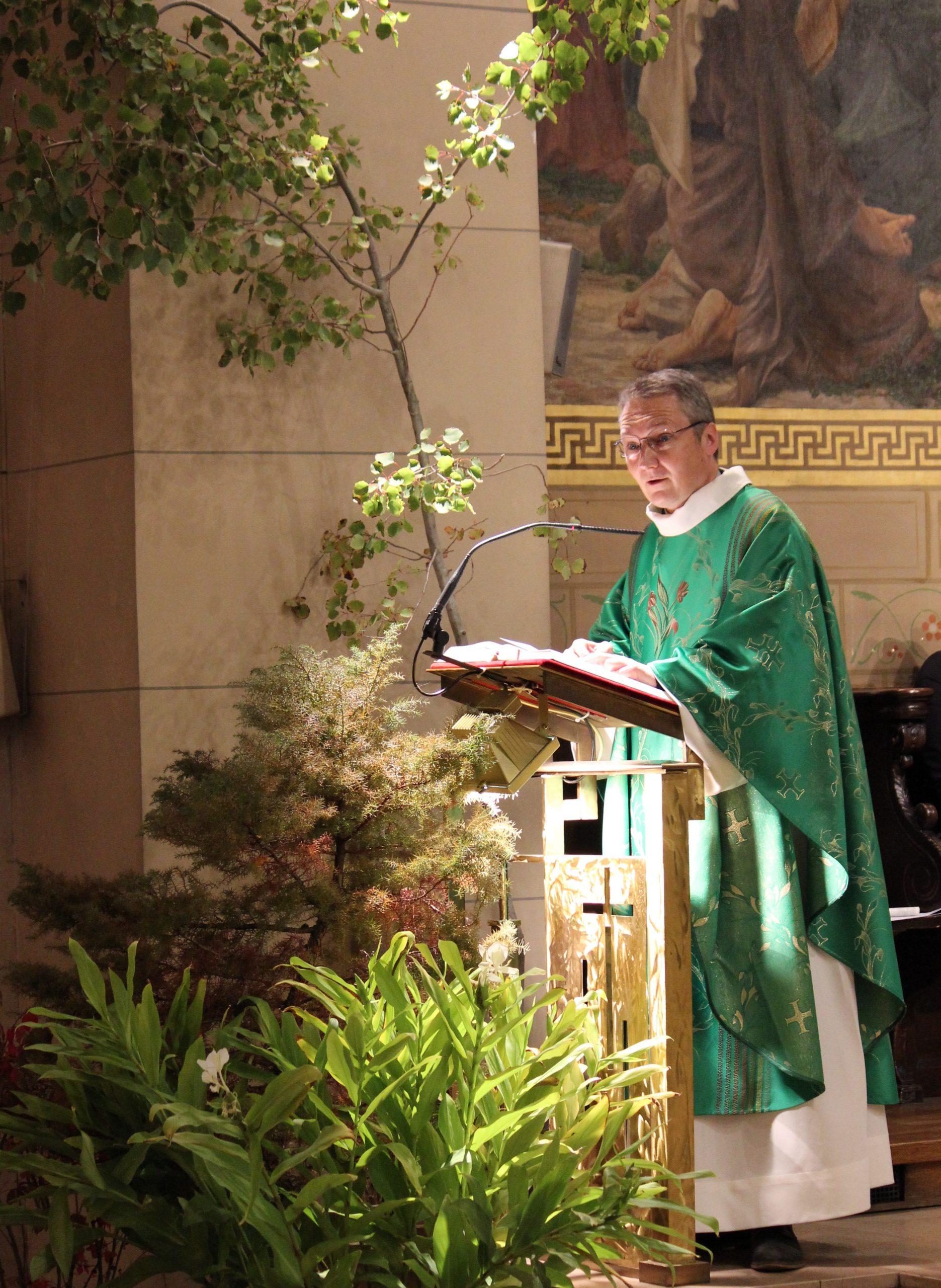 4 Octobre : Fête de la Création. Homélie du Père Jérôme Thuault, curé.