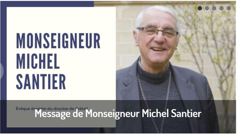 Message de Monseigneur Michel Santier