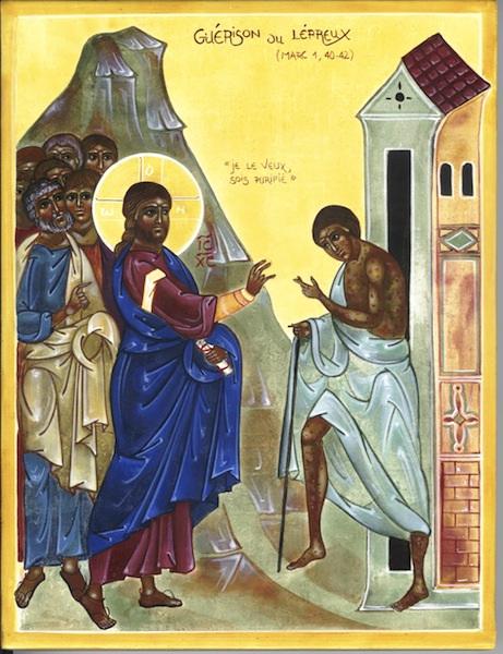 Messe du 14 février, 6ème dimanche du temps ordinaire : homélie du Père Marc Dumoulin.