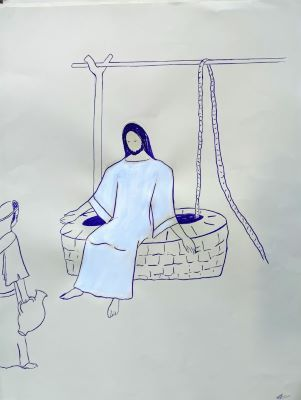 Dimanche 7 mars – Homélie du Père Marc Dumoulin à l'occasion du 1er scrutin de Saloni et d'Anaïs