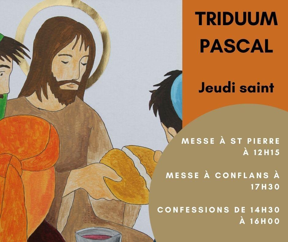 1er Avril : Jeudi Saint