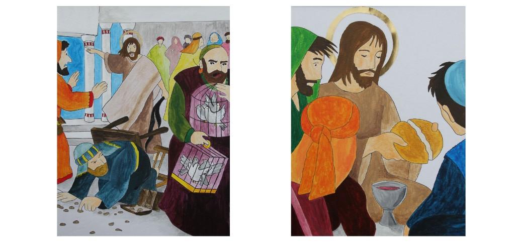Les jeunes du caté cheminent vers Pâques