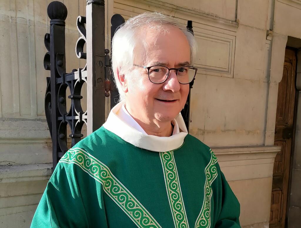 Messe d'action de grâce pour le ministère du Père Marc à Charenton.