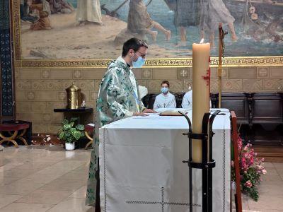 Messe d'action de grâce pour le ministère à Charenton du père Philippe.